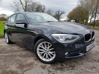 USED 2013 62 BMW 1 SERIES 2.0 116D SE 5d SERVICE HISTORY