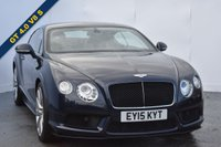 USED 2015 15 BENTLEY CONTINENTAL GT 4.0 V8 S coupe 2dr absolutely stunning and full of the usual bentley refinements