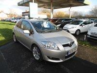 2009 TOYOTA AURIS 1.6 SR VALVEMATIC 3d AUTO 124 BHP £3995.00