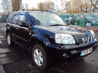 USED 2006 06 NISSAN X-TRAIL 2.2 SVE DCI 5d 135BHP FULL LEATHER HEATED SEATS+CDC+