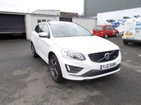 USED 2015 VOLVO XC60 2.4 TD D5 R-Design Lux Nav Estate Geartronic AWD 5dr (start/stop) Top spec