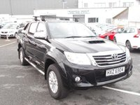 USED 2015 TOYOTA HI-LUX 3.0 D-4D Invincible Double Cab Pickup 4dr Diesel Manual (171 bhp)