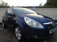 USED 2009 09 VAUXHALL CORSA 1.4 DESIGN 16V TWINPORT 3d 90 BHP GUARANTEED TO BEAT ANY 'WE BUY ANY CAR' VALUATION ON YOUR PART EXCHANGE