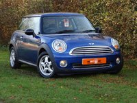 2007 MINI HATCH ONE 1.4 ONE 3d 94 BHP £4950.00