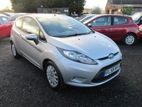 USED 2009 59 FORD FIESTA 1.2 STYLE PLUS 3DR