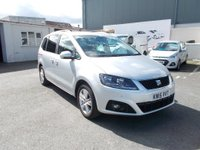 USED 2015 15 SEAT ALHAMBRA SE ECOMOTIVE CR 2.0 TD From only £249/month