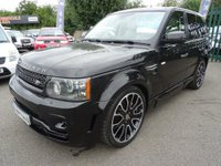 USED 2011 11 LAND ROVER RANGE ROVER SPORT 3.0 Tdv6 Hse auto nav 5dr OVERFINCH BLACK WITH CREAM LEATHER overfinch sports prestige