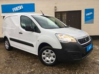 USED 2015 65 PEUGEOT PARTNER 1.6 HDI PROFESSIONAL 625  * 0% Deposit Finance Available