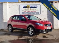 USED 2012 12 NISSAN QASHQAI 1.6 VISIA 5d 117 BHP One Owner Bluetooth A/C 2 Keys 0% Deposit Finance Available