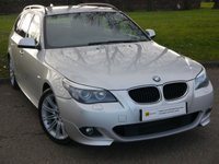 2010 BMW 5 SERIES 2.0 520D M SPORT BUSINESS EDITION TOURING 5d AUTO 175 BHP £9995.00