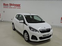 USED 2015 64 PEUGEOT 108 1.0 ACTIVE 3d 68 BHP
