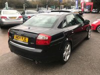 USED 2004 04 AUDI A4 1.8 T S LINE 4d AUTO 188 BHP FULL SERVICE HISTORY, LOW MILES