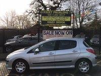 2008 PEUGEOT 308 1.4 S 5d 94 BHP £2000.00