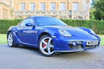 2006 PORSCHE CAYMAN 3.4 24V S 2d 295 BHP £15490.00