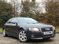 USED 2010 10 AUDI A5 2.0 SPORTBACK TDI SE 5d 141 BHP * 128 POINT AA INSPECTED *