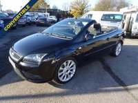 USED 2007 57 FORD FOCUS CC 2.0 2dr diesel convertible