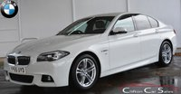 USED 2015 65 BMW 5 SERIES 520d M-SPORT SALOON AUTO 188 BHP Finance? No deposit required and decision in minutes.