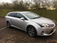 USED 2014 64 TOYOTA AVENSIS 2.0 D-4D ICON BUSINESS EDITION 5d 124 BHP £30 Road Tax for Life