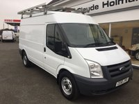 2011 FORD TRANSIT T350 2.2 TDC i 115 6-Speed MWB Medium Roof  £8795.00