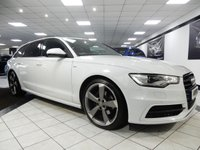 USED 2015 64 AUDI A6 AVANT 2.0 TDI ULTRA S LINE BLACK EDITION 190 BHP PAN ROOF FASH VAT QUALIFIYING! 1 OWNER