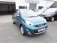 USED 2015 65 NISSAN MICRA 1.2 ACENTA 5d 79 BHP From only £99/month