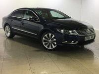 USED 2014 64 VOLKSWAGEN CC 2.0 GT TDI BLUEMOTION TECHNOLOGY 4d 138 BHP SAT NAV / LEATHER