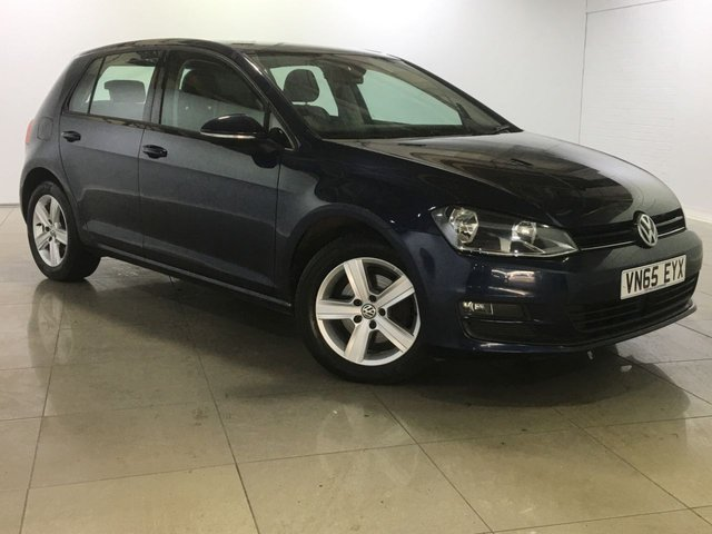 View our 2015 65 VOLKSWAGEN GOLF 1.6 MATCH TDI BLUEMOTION TECHNOLOGY 5d 109 BHP