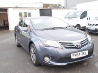 USED 2015 64 TOYOTA AVENSIS 2.0 D4D ICON BUSINESS ED high spec