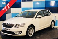 USED 2013 63 SKODA OCTAVIA 2.0 ELEGANCE TDI CR 5d 148 BHP A truely wonderful example of this highly regarded family diesel hatchback This car comes with full service history majority at main agent. The car is in totally unmarked condition .with half leather/alcantara interior,the car is equiped with all the elegance refinements including satelite navigation ,cruise control and speed limiter,bluetooth phone preparation ,voice command,usb and media interface along with digital  climate control along with returning a magnificent  combined mpg of 68.9 capp