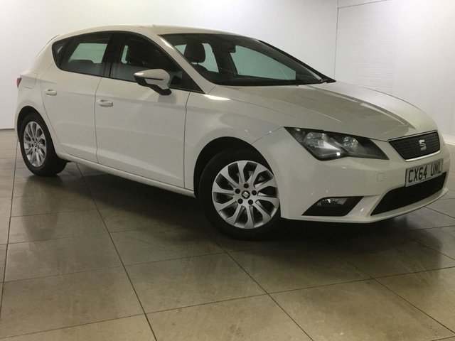 View our 2014 64 SEAT LEON 1.6 TDI ECOMOTIVE SE 5d 110 BHP