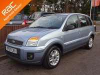 2007 FORD FUSION 1.4 ZETEC CLIMATE 5dr, Full Service History £3490.00