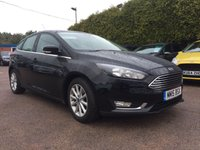 2015 FORD FOCUS 1.6 TDCI TITANIUM NAVIGATION 5Dr ONE PRIVATE OWNER FROM NEW £9250.00