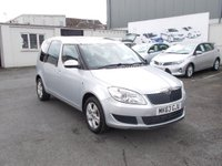 USED 2013 63 SKODA ROOMSTER 1.6 SE TDI CR 90 Low mileage-only £149/month