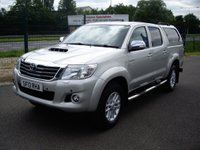 USED 2013 13 TOYOTA HI-LUX 3.0 Invincible 4x4 D-4d Dcb