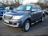 USED 2013 63 TOYOTA HI-LUX 3.0 Dcb Invincible 4x4 D-4d