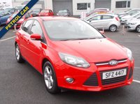 USED 2014 FORD FOCUS ZETEC 1.6 NAVIGATOR From only £159/month