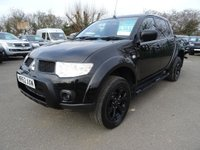 USED 2012 62 MITSUBISHI L200 2.5 di-D 4x4 Barbarian Black Lb Dcb great value for money and in fantastic condition
