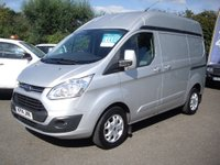 USED 2014 14 FORD TRANSIT CUSTOM 2.2 290 Limited Lr Pv