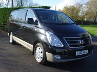 USED 2017 17 HYUNDAI I800 SE 8 Seater Minibus Automatic 2.5 CRDI 168 Ps High Specification 8 Seater MPV / Minibus With Only 10000 Miles