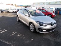 USED 2015 15 RENAULT MEGANE 1.5 D-QUE TT ENERGY DCI S/S Only £145/month low miles