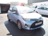 USED 2016 16 TOYOTA YARIS 1.3 ICON VVT-I Only £172/month