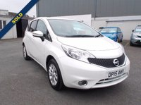 USED 2015 15 NISSAN NOTE 1.2 ACENTA 1.2 5door from £119 per month