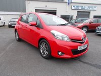 USED 2014 TOYOTA YARIS 1.4 ICON + D-4D price slashed Only £119/month