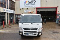 USED 2013 13 MITSUBISHI FUSO CANTER 3.0 7C15 34 2d 148 BHP 7500KG RWD AUTOMATIC TWIN WHEEL DIESEL TIPPER ONE OWNER FULL S/H SPARE KEY