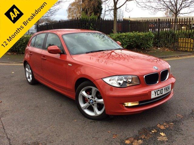 2010 10 BMW 1 SERIES 2.0 118D SPORT 5d 141 BHP