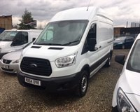 USED 2014 64 FORD TRANSIT T350 L3 High Roof 2.2 Tdci 125Ps H3 Van +FULL HISTORY/1 OWNER/2 KEYS+