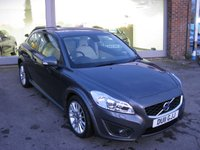 USED 2011 11 VOLVO C30 2.0 D4 SE LUX 3d 175 BHP Full History Leather seats. Just serviced and new MOT Xenons Park assist. Cruise control.
