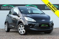 USED 2014 14 FORD KA 1.2 STUDIO 3d 69 BHP **£0 DEPOSIT FINANCE AVAILABLE**SECURE WITH A £99 FULLY REFUNDABLE DEPOSIT** £30 TAX, 55+MPG, LOW MILEAGE, 2 PREVIOUS OWNERS, CLIMATE CONTROL, CD PLAYER, AUX INPUT