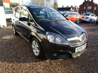USED 2006 06 VAUXHALL ZAFIRA 1.9 DESIGN CDTI 5d 120 BHP FSH, SAT NAV, CRUISE CONTROL, TWO OWNERS FROM NEW