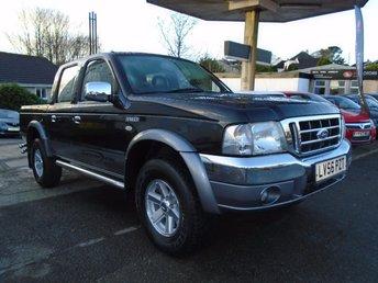 2006 FORD RANGER 2.5 THUNDER D/C 1d 107 BHP £4495.00